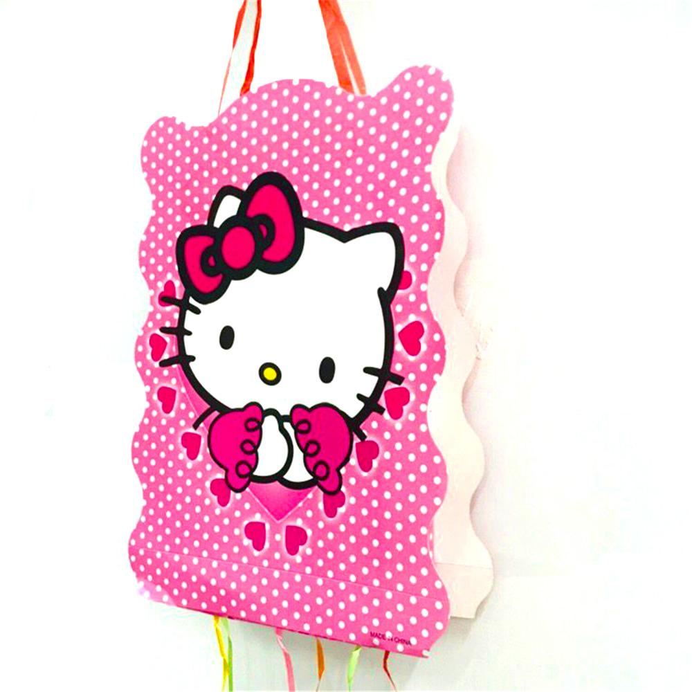 40 30cm Hello Kitty Cat Pinata Cartoon Funny Party Supplies Kids Disposable  Plastic Birthday Girls Party Favors Decoration Canada 2019 From  Merryseason, ... ccc426fb54