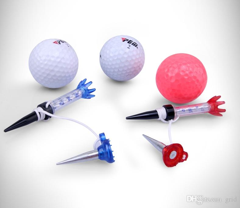 Original PGM Brand Outdoor Sports Golf 70mm Training Ball Tee Composite Magnetic Step Down Golf Ball Holder Tees Golf Accessories