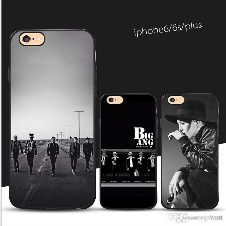 best website 52789 df0f7 Apple 7P mobile phone shell black matte TPU painted protective cover iphone  6s factory direct custom processing