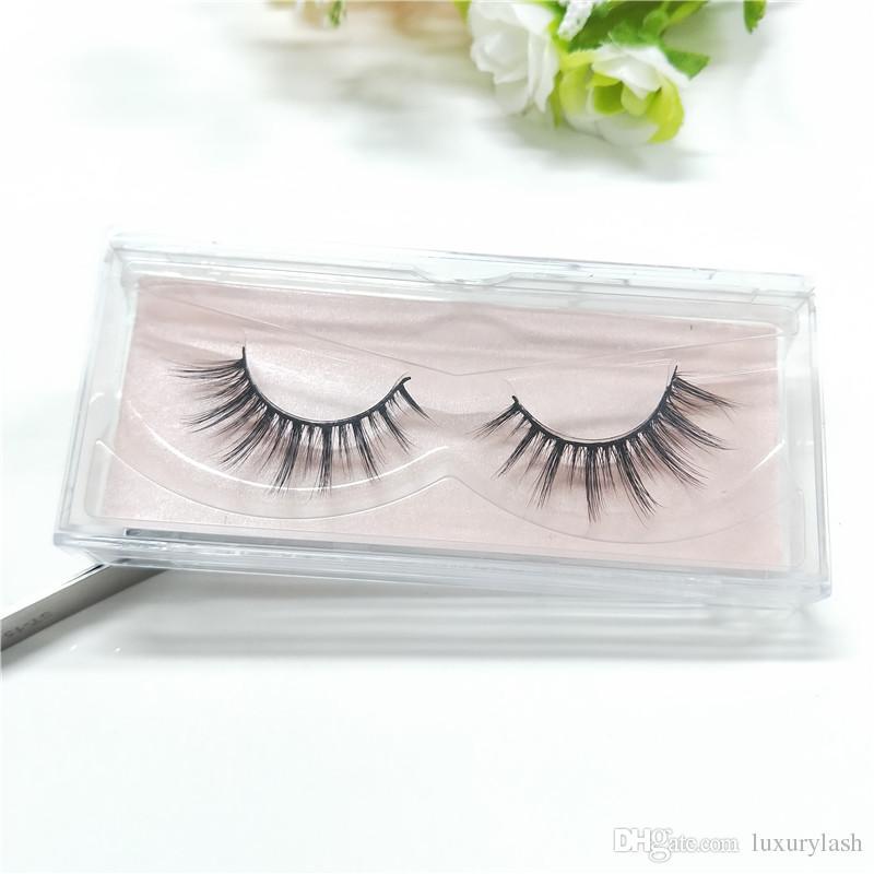 2018 Seashine Beauty mink eyelashes 3D MINK False Eyelashes Messy Cross Dramatic Fake Eye Lashes Professional Makeup Lashes