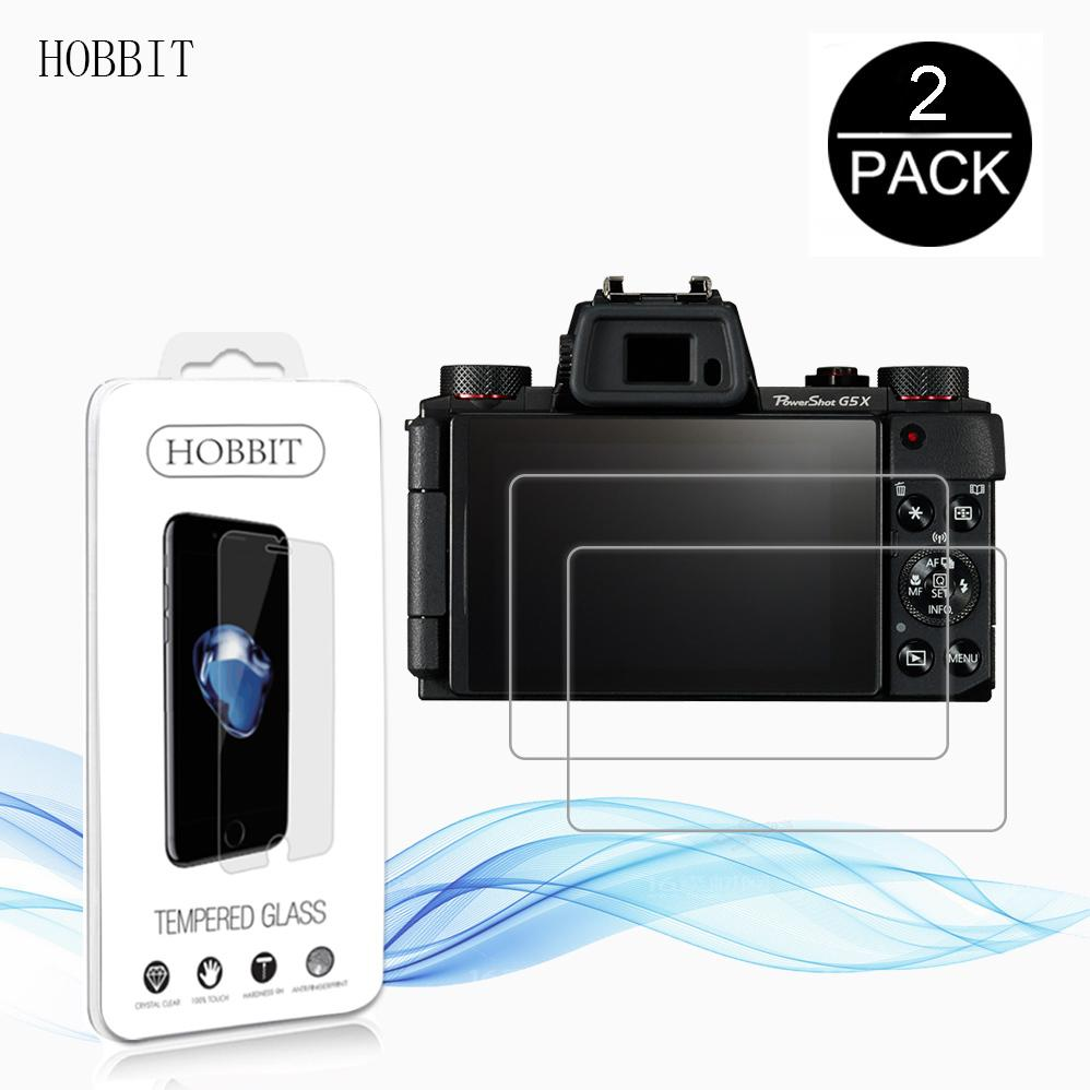 2pack For Canon Powershot G5x G7x G9x 03mm 25d 9h Clear Kamera Pocket Tempered Glass Screen Protector Digital Camera Anti Scratch Film
