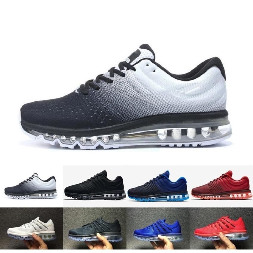 san francisco 77c65 a58eb Acheter Nike Air Max Airmax 2017 Nouveau Maxes 2016 Kpu Chaussures De  Course Hommes 2016 Maxes Kpu Runs Chaussure De Sport Haute Qualité Trainers  Marque ...