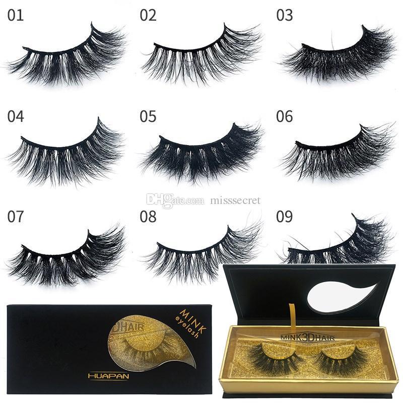 db62e3489dc New 3D Multilayer Mink Lashes Thick False Mink Eyelashes 100% Hand Made Fake  Mink Lash Exquisite Packaging Eyelashes Extension Makeup Tool Eyelash ...