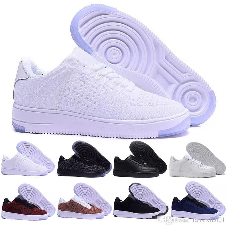Acquista Nike Flyknit Air Force 1 One Shoes Le Nuove Scarpe Da Corsa  Huarache I Uomo Donna f089fe284d7