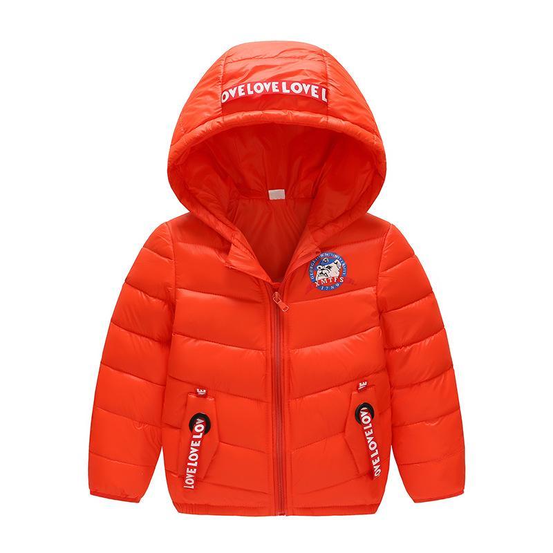 ebe477f91 weiqinniya Boys Down Parkas Jackets Winter Parka Jacket For Boys Fashion  Children Windbreaker Hooded Jacket Child Letter Jackets