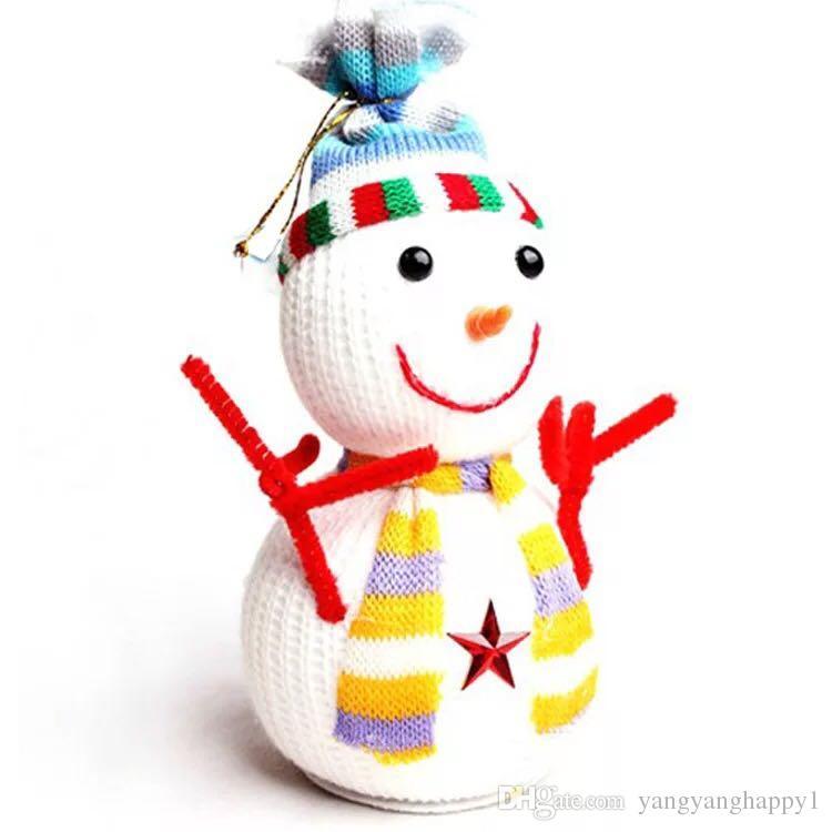 Christmas Snowman Chriatmas Ornament Mini Gift For Children Pendant