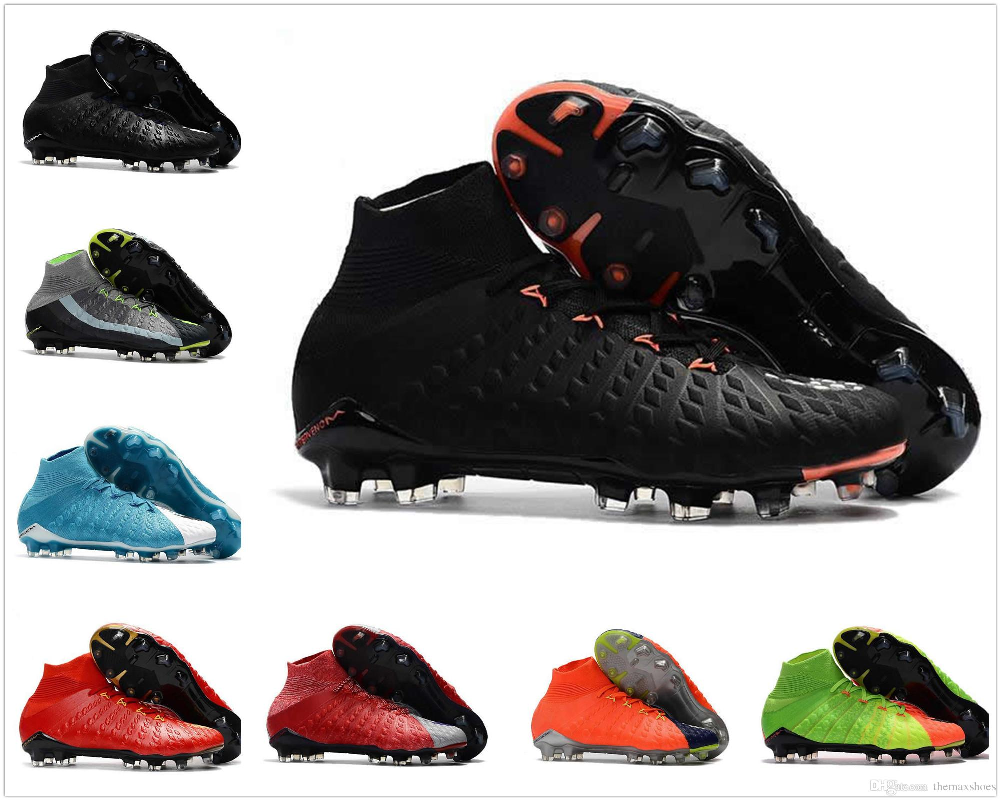 clearance real buy cheap best store to get 2018 Free Shipping Hypervenom Phantom III DF Soccer Shoes Men Football shoes Mens High ankle FG Soccer Cleats Neymar FG Football Boots free shipping shopping online free shipping footaction nql8RhKp