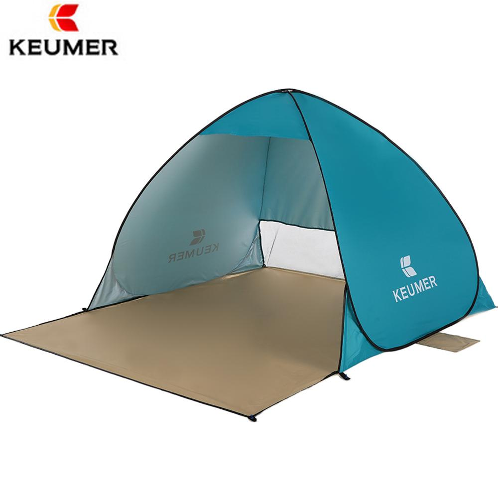 KEUMER Beach Tent Pop Up Open C&ing Tent Fishing Hiking Outdoor Automatic Instant Portable 120+60*150*100cm Anti UV Shelter Canopy Tents Kelty Tents From ...  sc 1 st  DHgate.com & KEUMER Beach Tent Pop Up Open Camping Tent Fishing Hiking Outdoor ...