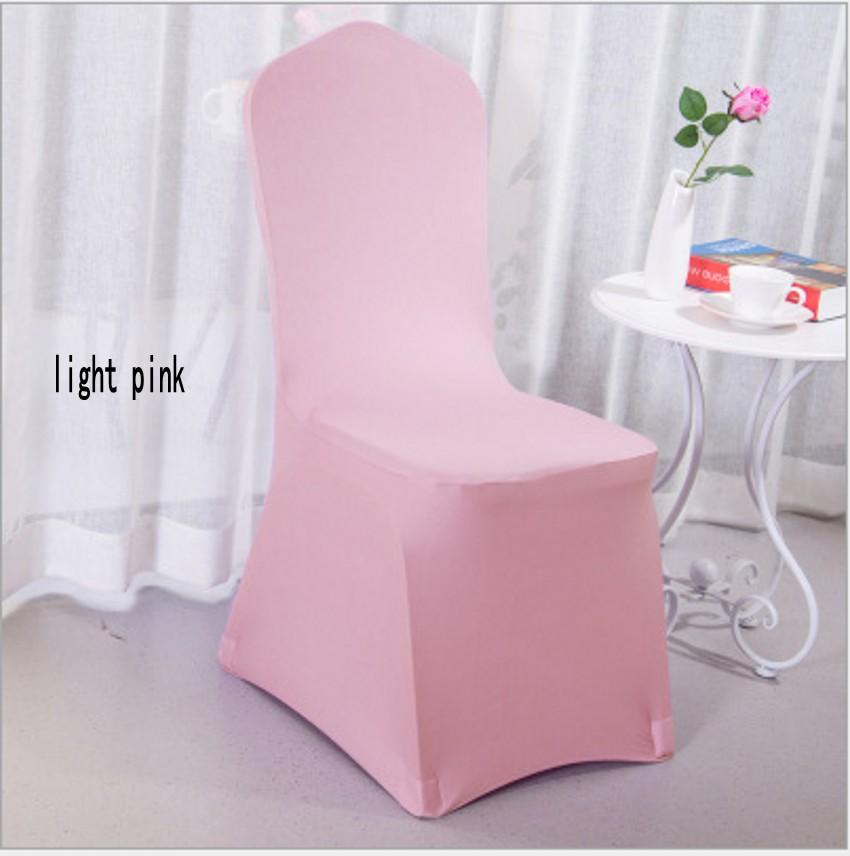 Universal White Polyester Spandex Wedding Chair Covers for Weddings Banquet Folding Hotel Decoration Decor Hot Sale Wholesale