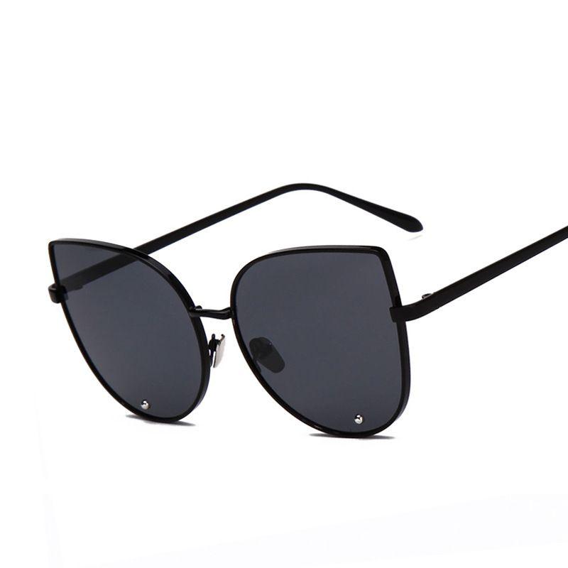 Korea New Pattern Fashion Will Frame Color Film Sunglasses Woman ...