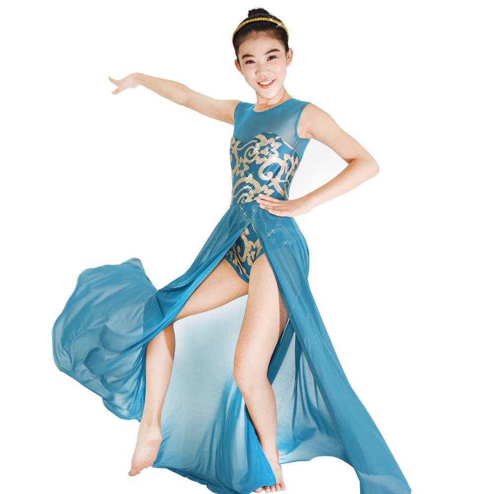 Teal Dance Dress