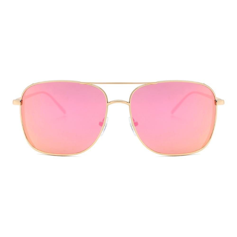 7d43abd0b1 Compre 2018 Venta Caliente De Tendencia Fasrhion Espejo Gafas De Sol De  Gran Tamaño Para Unisex UV400 A $6.99 Del Zlgood | DHgate.Com