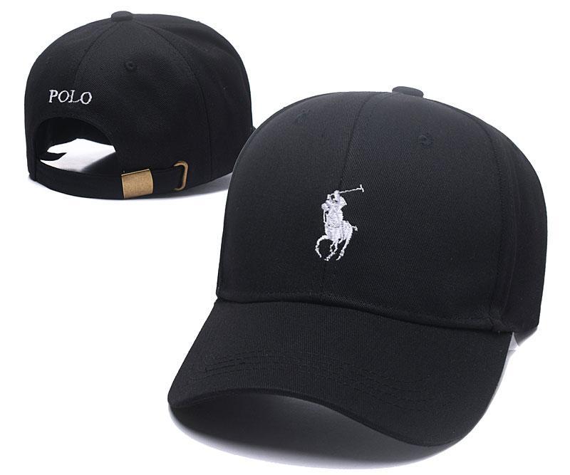 Nuevos casquillos de polo Gorra de moda casual Gorra de béisbol de calidad  superior de 6 paneles Gorra de béisbol popular Gorra 100% algodón Sombrero  de ... 6a1c434ca5d