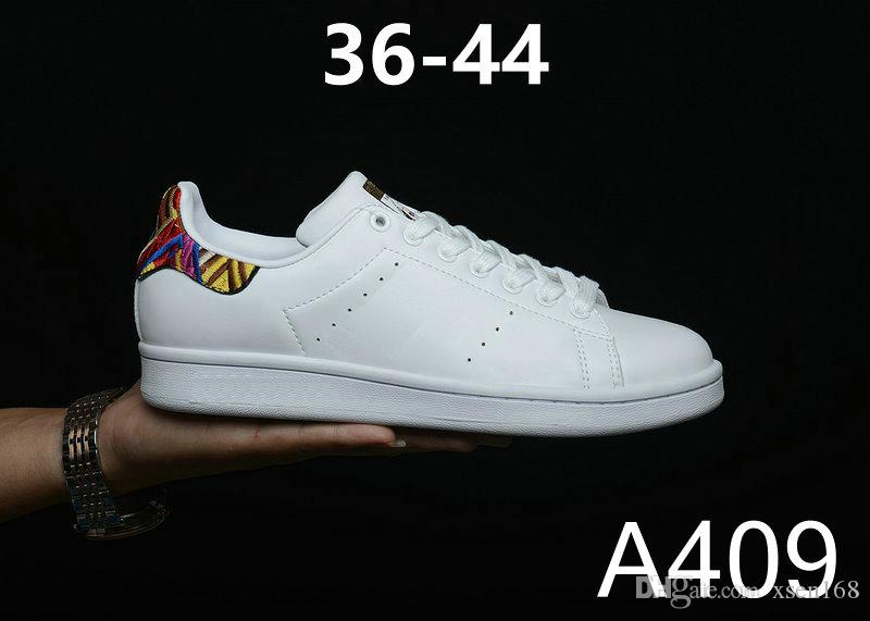 1ee4f1ae4f0 Acheter Nouvelles Femmes De Qualité Supérieure Originals Superstar  Chaussures Stan Mode Sneakers Smith Chaussures De Sport En Cuir Casual De   44.68 Du ...