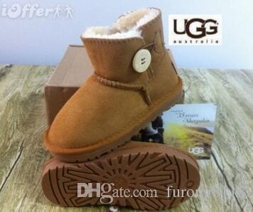 bc8b84887 New Winter waterproof children s warm winter boots girls boys kids  Australian UGG snow boots free shipping