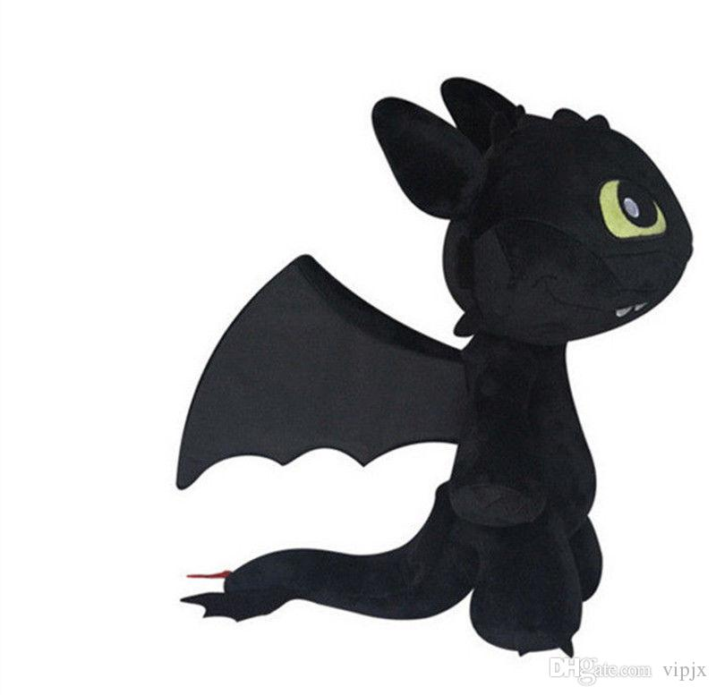 Height 30CM Children Plush Toys How to Train Your Dragon Plush Toothless Night Fury Soft Toy gift New DDF