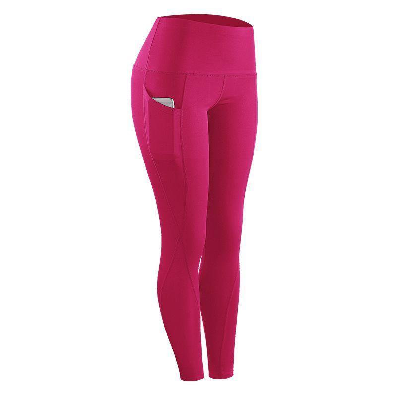 Taille Collants Pour Fitness Femmes Pantalon Leggings Haute Sports Compression Solide Course Séchage Femme Stretch Nouvelle À 2018 Rapide fyYb67g