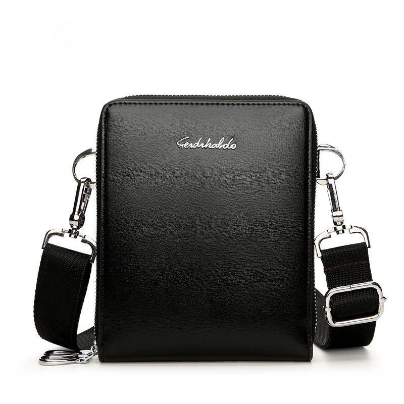 3ef375ca8 FEIDIBKABOLO Brand New IPAD Men Crossbody Bags Fashion Men Shoulder Bags  Small Messenger Bag For Leather Bolsa Masculina Large Handbags Black  Leather ...