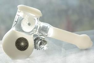 Heady Hammer Bubbler Black Glass Bobero Mano Classico Bianco Bubbler Tubo di fumo con manico spessore