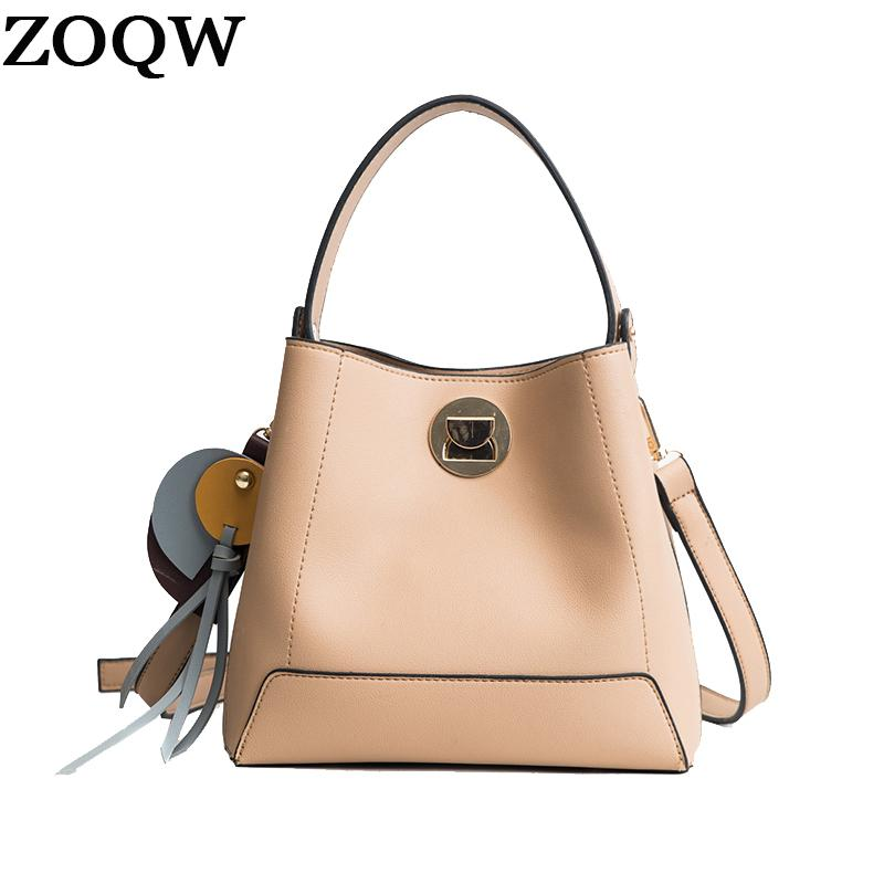 ZOQW Hot Handbag Casual Tote Bag Female Shoulder Women Messenger Bags High  Quality PU Leather Handbags Small Bucket Bag WYQ1538 Top-Handle Bags Cheap  ... 8113904052