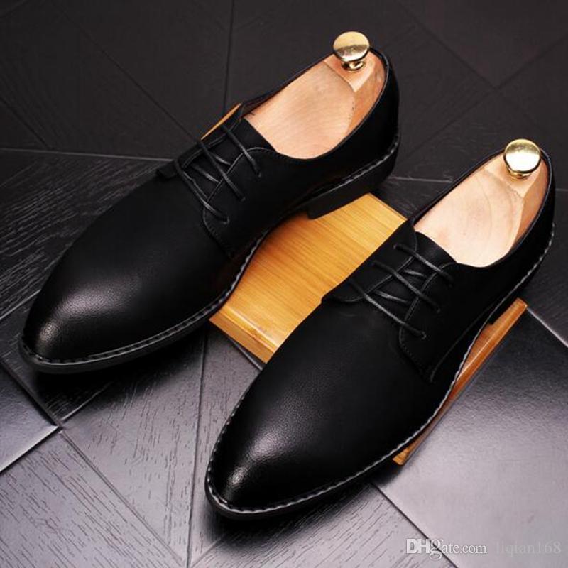 Chaussures en cuir pointues pour homme Chaussures de loisirs en rose brodées.Modèle unique en son genre Chaussures Oxford confortables et respirantes.