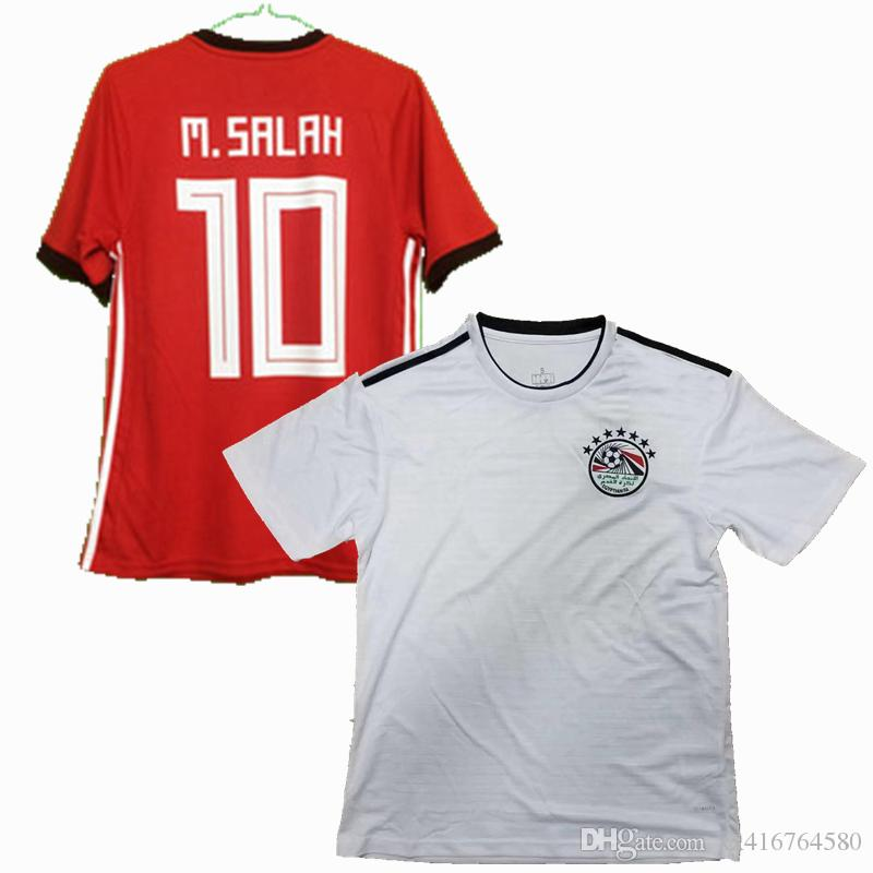 5a9822b94 2019 2018 Egypt Soccer Jersey 18 19 M.SALAH M.ELNENY Home Away National  Team Football Sports Shirts Jerseys S 2XL From Xx416764580