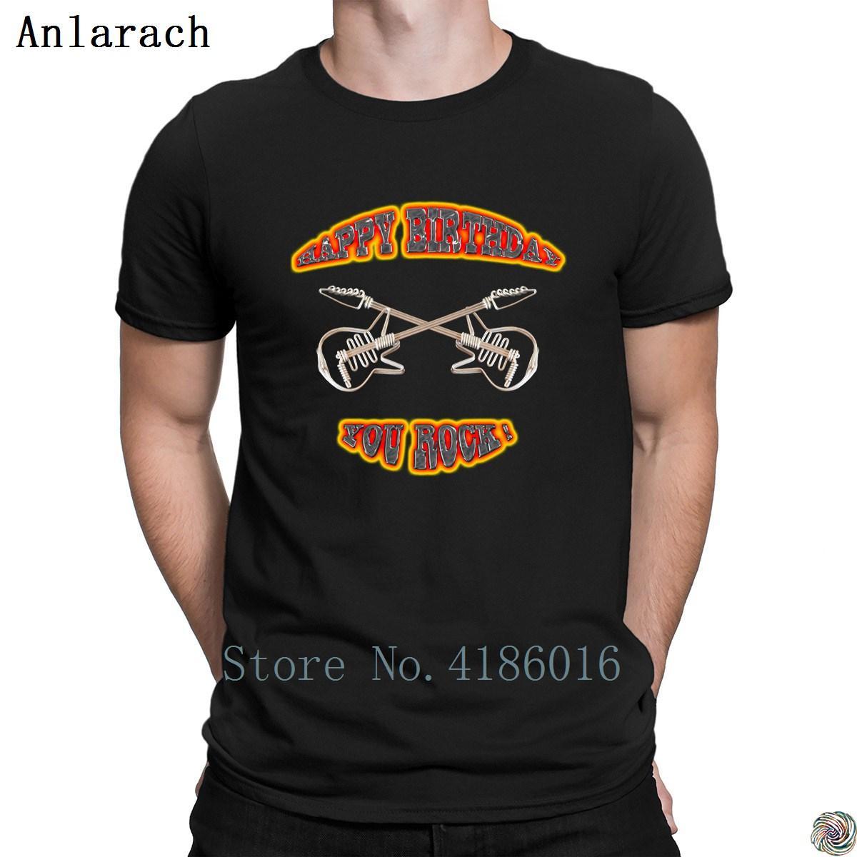 Acheter Joyeux Anniversaire Vous Rock T Shirt De Qualite Superieure