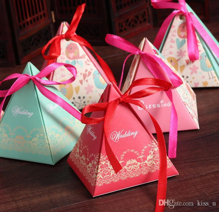 100pcs Candy Box Chocolate Paper Gift Box Small For Birthday Wedding Party Decoration Craft Diy Favor Baby Shower