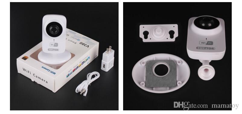Sıcak Satış Bebek Monitörü Ev Güvenlik Kablosuz Akıllı IP Kamera Gözetim Kamera Wifi NightVision CCTV Kamera