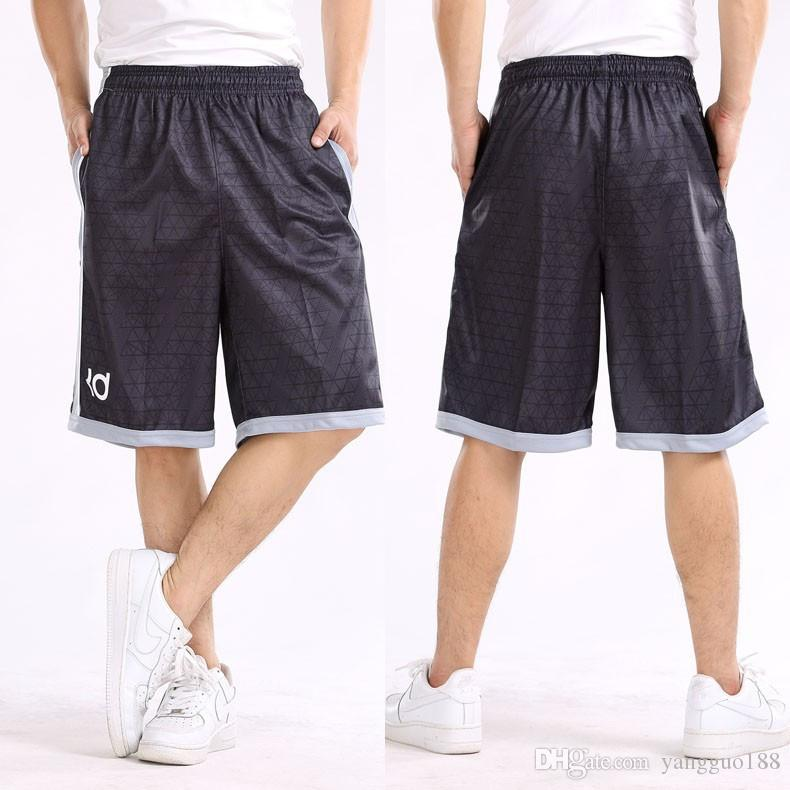 Casual Shorts Summer Sport Running Gym Men Loose Elastic Waist Outdoor Men Quick Dry Ultra-light Zipper Pocket Embroidery Army Shorts Men