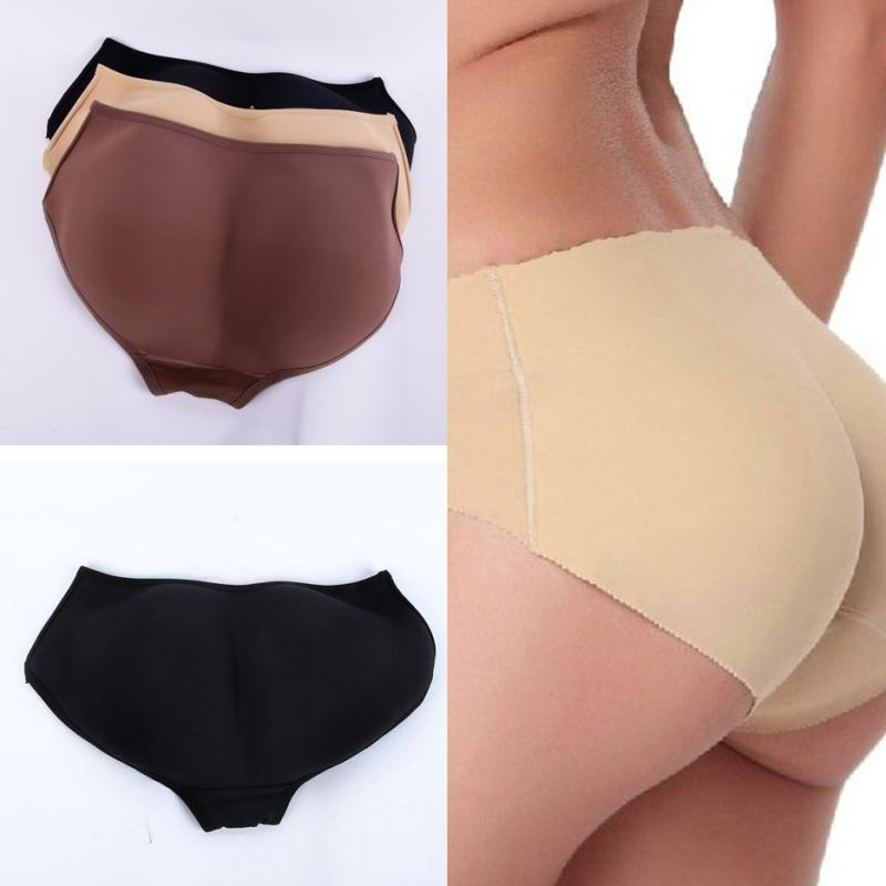 5285534ba88 2019 Women Soft Seamless Sexy Enhancer Hip Up Briefs Panties Knickers  Buttock Backside Silicone Bum Padded Butt Underwear From Wenshicu
