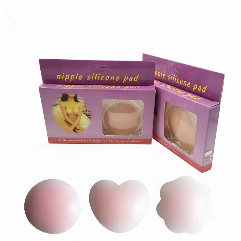 Invisible Bra Breast Pad Women Silicone Skin Self Adhesive Bra Sticker Waterproof Breast Nipple Cover Breast Pad
