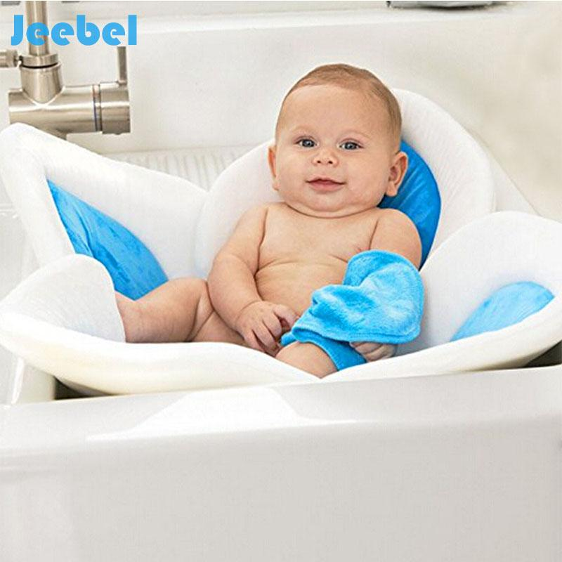 2018 Jeeble Blooming Bath Flower Bath Tub Mat Sink For Baby Infant ...