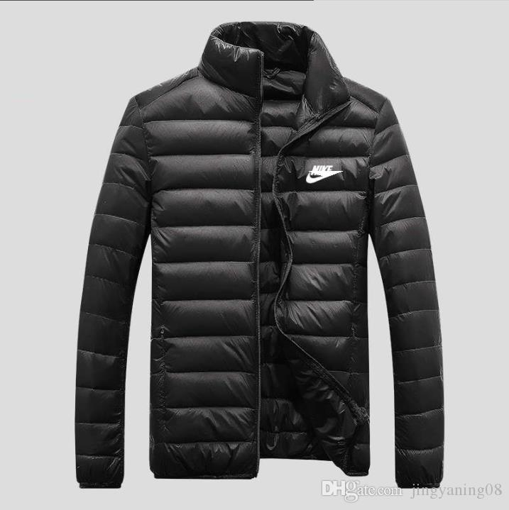 62e9afd1e9a5 Wholesale- New Mens White Goose Down Parkas Thin Style Soft Man ...