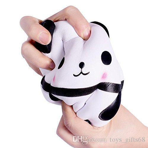 14 centimetri VLAMPO panda uovo giocattolo sollievo stress squishy genuino squishy morbido rimbalzo lento suqishy grande profumata bambola sfogare morbido giocattoli pizzicare mano