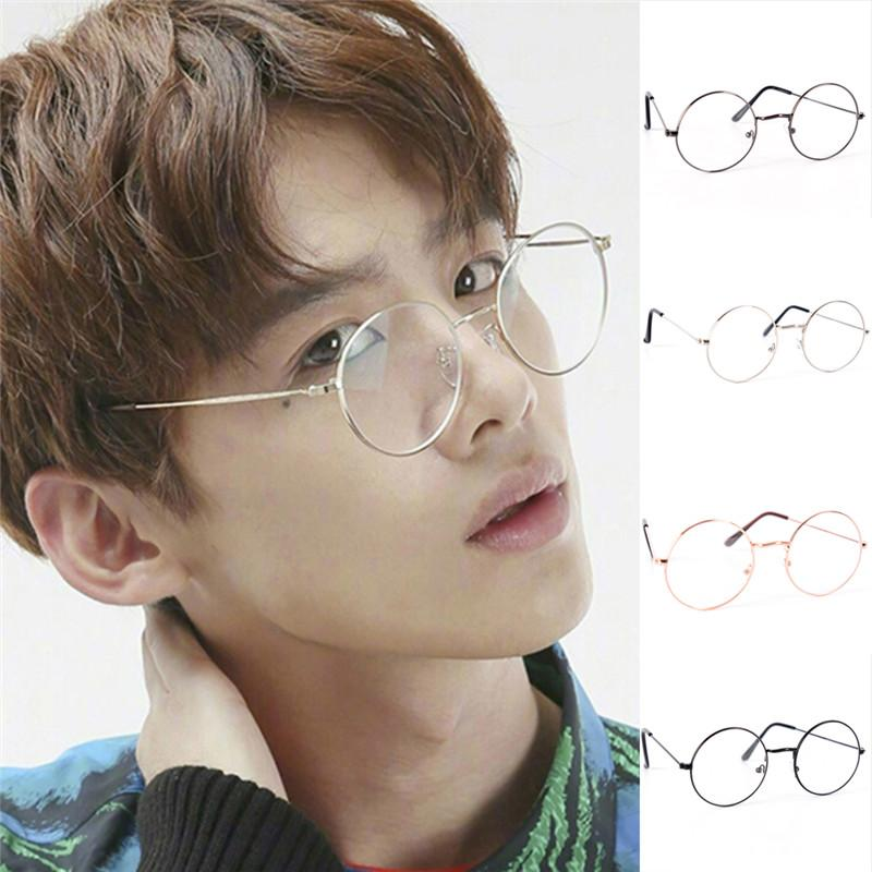 73fc1421ca7f 2019 Fashion Round Spectacle Glasses Frames Glasses With Clear Glass Myopia  Optical Transparent For Women Men From Dracaena