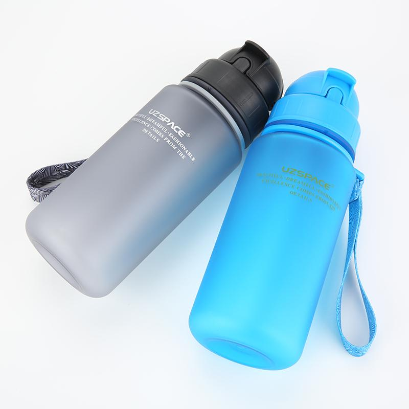 350ml Student Children Kettle Portable Space Resistant Sports Leakproof  Straw Type Plastic Water Bottles (Bpa Free )