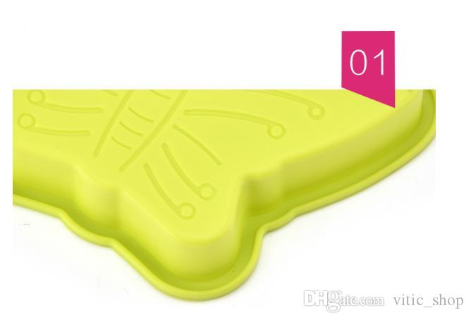 Cake mold Silicon butterfly shape molds amazing fondant moulds candy cmolds animal cake mold for baking cake Decorations bakeware CMM07