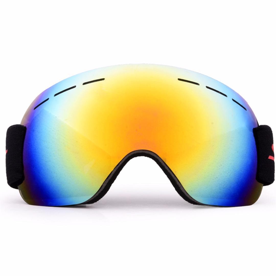 Compre Adulto Óculos De Esqui Anti Fog Dual Lens UV Óculos De Snowboard  Esporte De Inverno Óculos De Sol Óculos De Esqui Neve Eyewear Com Saco De  ... 35f0419055