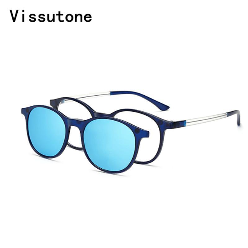 08f1ea784b Compre El Nuevo Marco TR90 Gafas De Sol Polarizadas Con Clip Magnético En  Gafas De Sol Para Hombres Y Mujeres Imán Gafas De Espejo A $24.1 Del  Jingchengyan ...