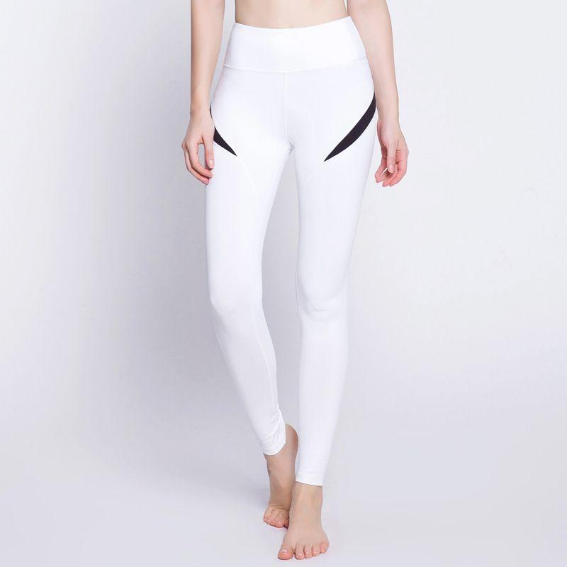 Women Yoga Pants High Elastic Fitness Sport Leggings Tights Slim Running  Sportswear Sports Pants Quick Drying Training Trousers Women Yoga Pants  High ... 549ee027ac8e