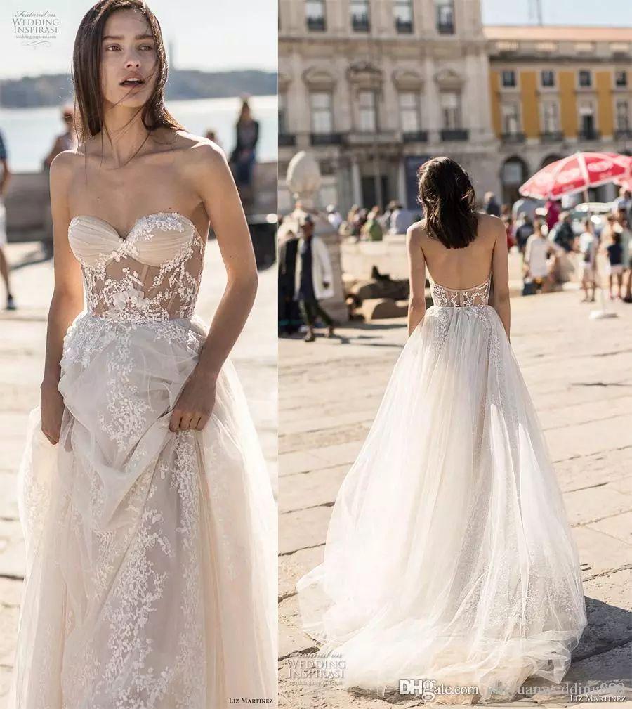 Liz Martinez 2019 Wedding Dresses: Discount 2018 Liz Martinez Beach Wedding Dresses