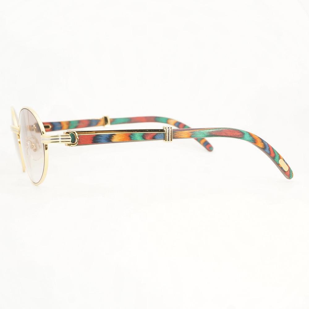 dd0fb123a0 Peacock Wood Sunglasses Men Summer Eyewear for Driving Club Fashion ...