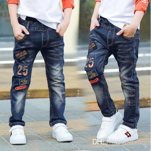 9399e729754 Classic Spring Autumn Children S Infant Soft Denim Boy OR Girl Jeans Casual  Trousers