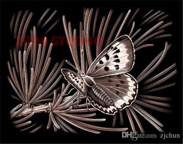Rhinestone pieno roundsquare diamante ricamo farfalla fiore fai da te pittura diamante kit punto croce decorazione del mosaico della casa AA0162