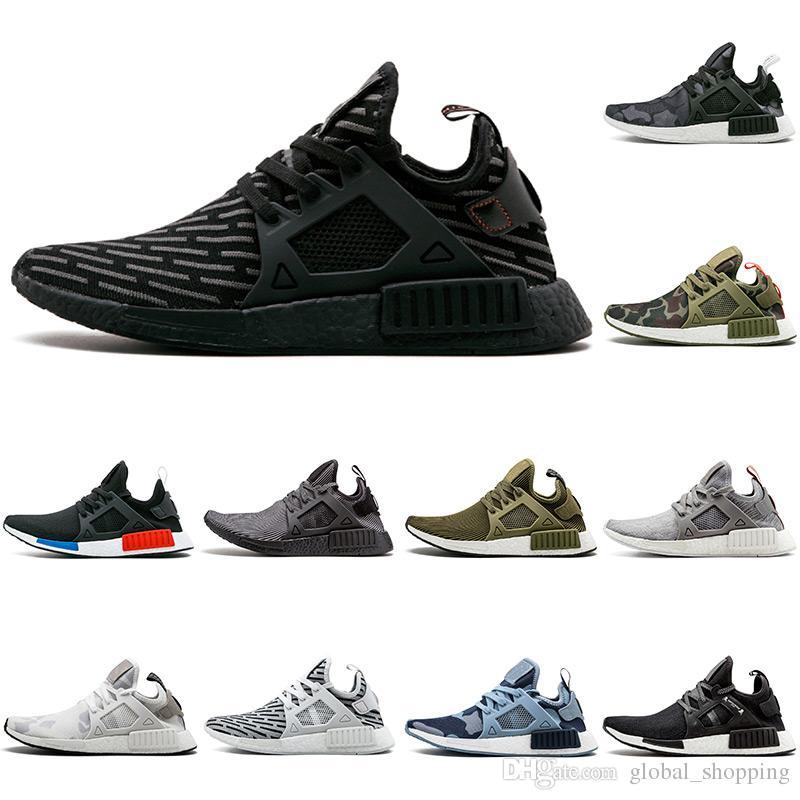 f3fe71f8c7a7d Cheap NMD XR1 PK Running Shoes Wholesale Cheap Sneaker NMD XR1 Primeknit OG  PK Zebra Bred Blue Shadow Noise Duck Camo Fall Olive Running Shoes Men  Running ...