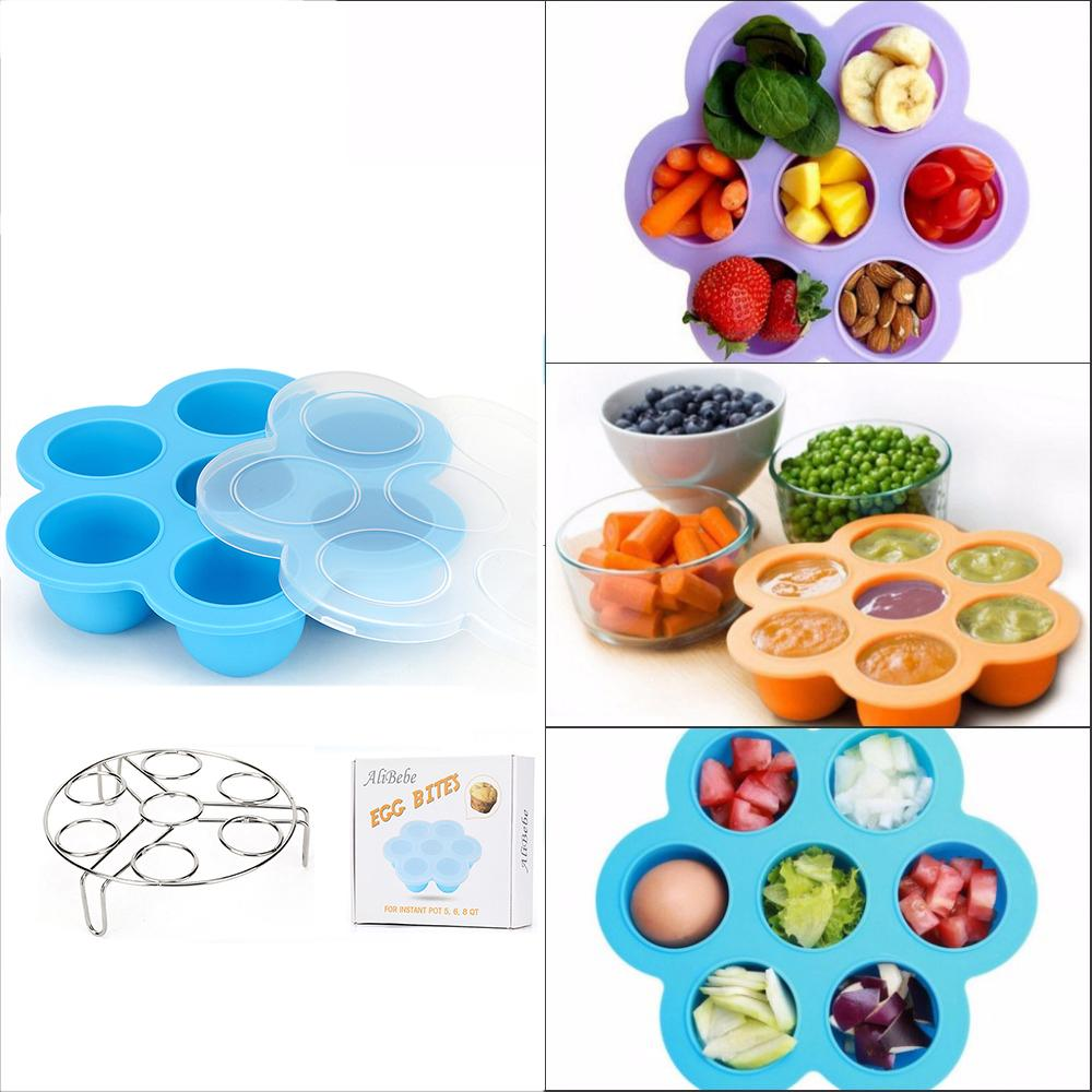 Best Homemade Baby Food Storage Container Freezer Trays Reusable