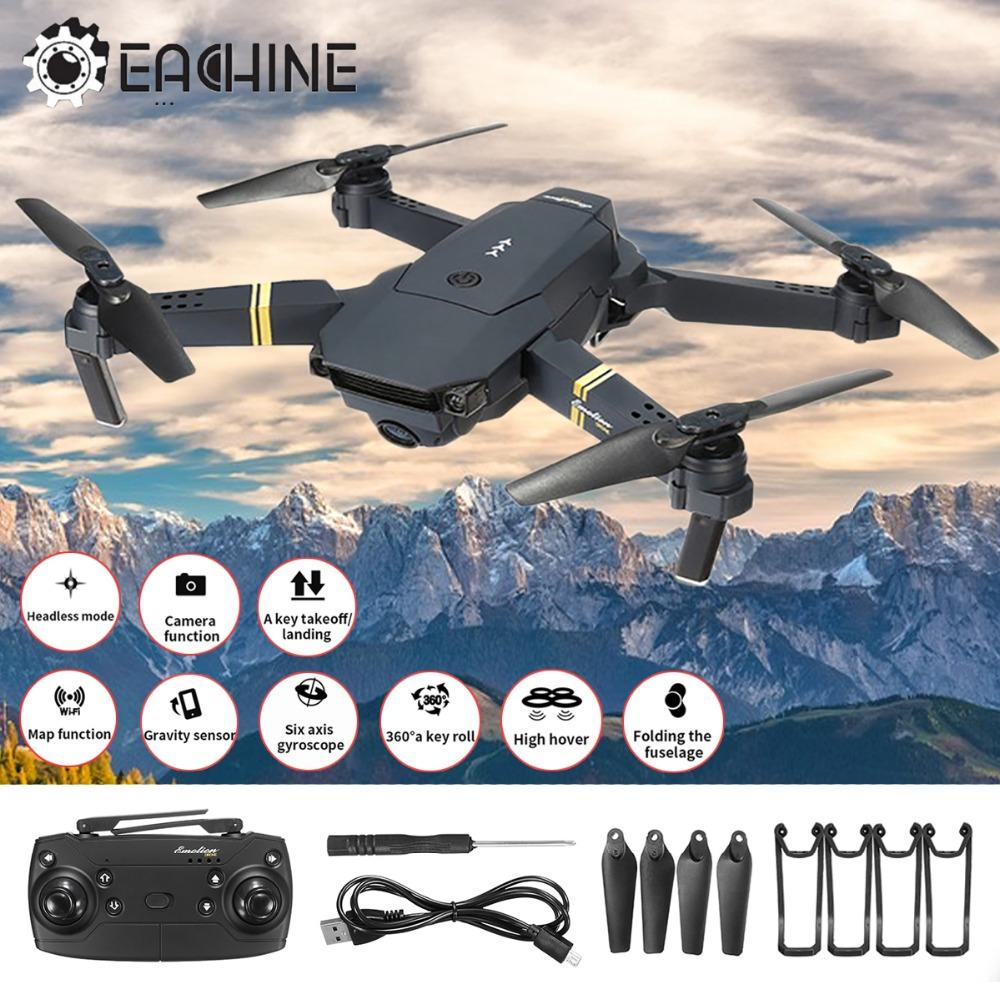 E58 Drone X Pro Foldable 2.4ghz Quadcopter Wifi 1080p Camera 4 Pcs Batteries Low Price Toys & Hobbies