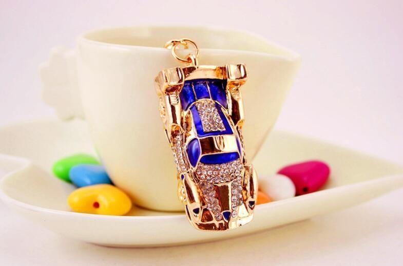 Sports Car Sparkling Luxury Keychain Supercar Sportscar Womens Keychains  Key Ring Chain Holder Bag Charm Decor Jewelry Gift Personalized Kids  Birthday Party ... 0fbfb260b3