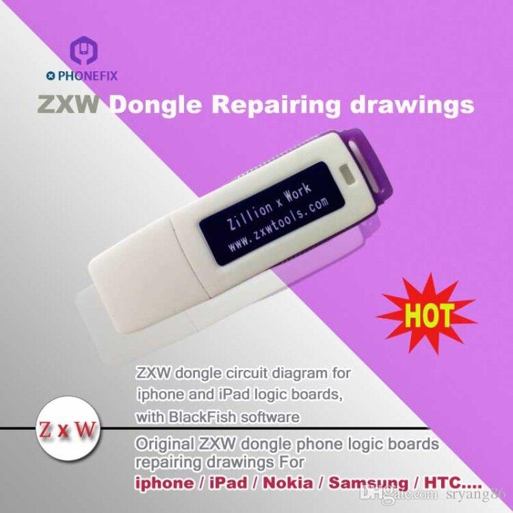 Fixphone 100 Original Zillion X Work Zxw Dongle Repair Mobile Phone